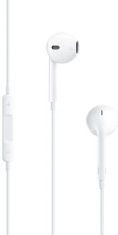 Apple MD827ZM/B Wired Headset with Mic(White)