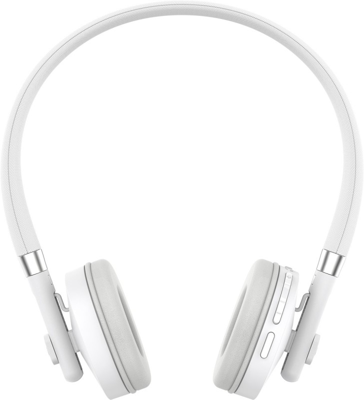 Motorola Pulse-S505 Headset with Mic(White, On the Ear)
