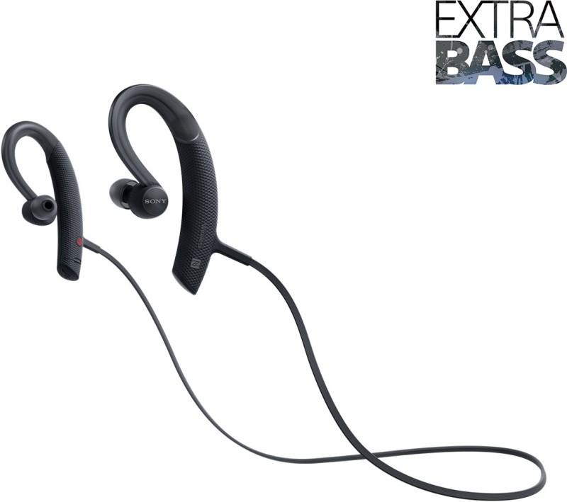 Sony XB80 Bluetooth Headset with Mic(Black, In the Ear)