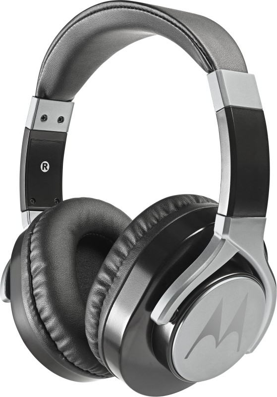 Motorola Pulse Max Headset with Mic(Black, Over the Ear)