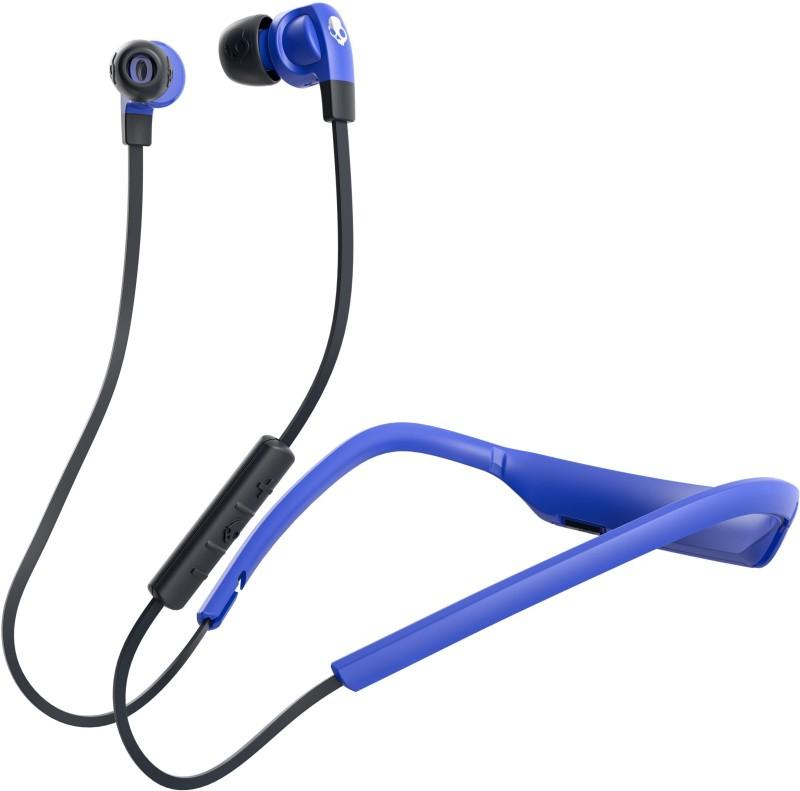 Skullcandy S2PGW-K615 Smokin Buds Headset with Mic(Blue Black, In the Ear)