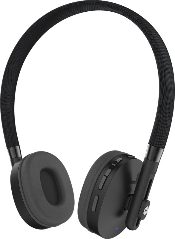 Motorola Pulse-S505 Headset with Mic(Black, On the Ear)