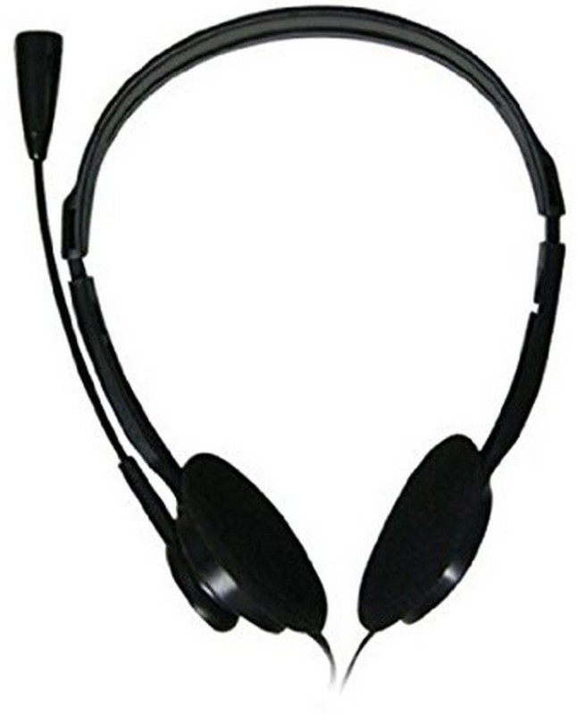 Zebronics Zebronics 11hm Wired Headset With Micblack On The Ear