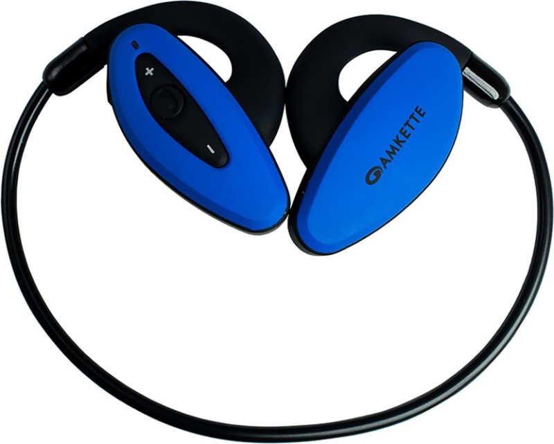 Amkette Pulse Bluetooth Headset with Mic(Blue, In the Ear)