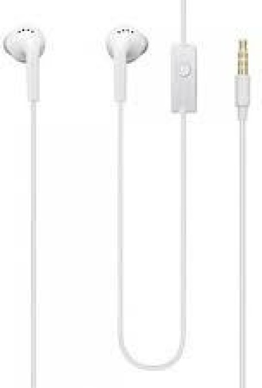 Samsung EHS61ASFWECINU Headset with Mic(White, In the Ear)