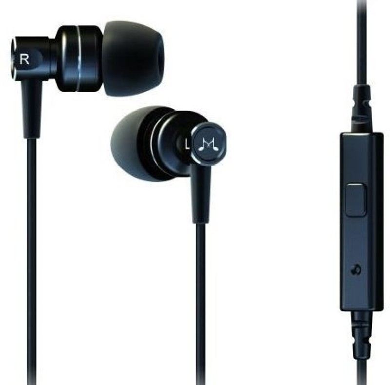 SoundMagic MP** Headset with Mic(Black, In the Ear)
