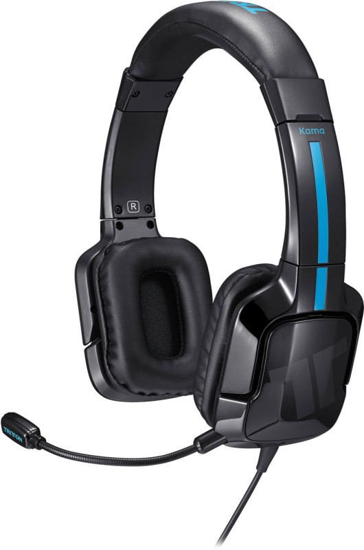 Tritton Kama Stereo for PlayStation 4 & PlayStation Vita Headset with Mic(Black, Over the Ear)