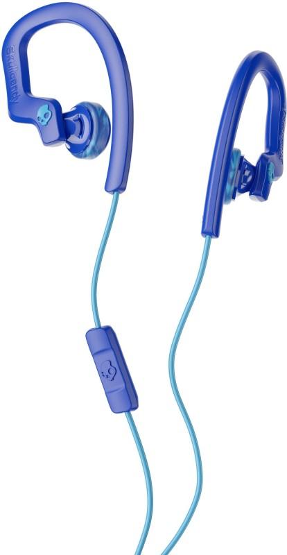 Skullcandy S4CHY-K608 Chops Flex Headset with Mic(Royal Blue Swirl, In the Ear)