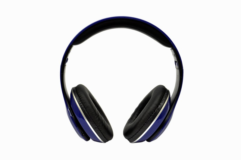 TacGears WLP15 Bluetooth Headset with Mic(Blue, Over the Ear)