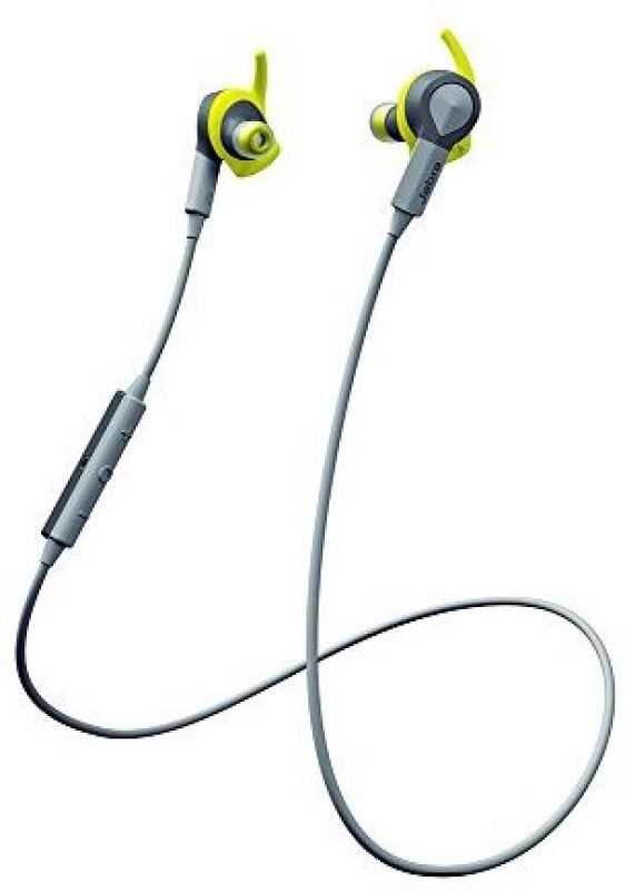 Jabra SPORT COACH Wireless Bluetooth Earbuds Headset with Mic(Black, On the Ear)