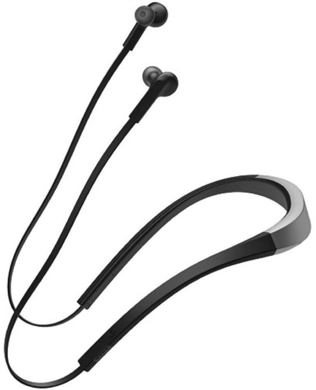 Shrih Voice Control System Bluetooth Headset with Mic(Black, In the Ear)