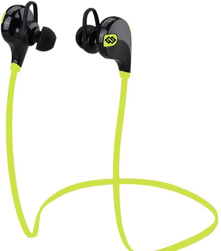 TAGG T-07-G Headset with Mic(Green, In the Ear)