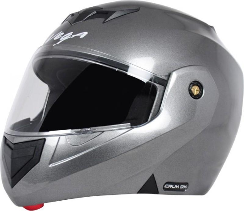 VEGA Crux DX Motorbike Helmet(Anthracite)
