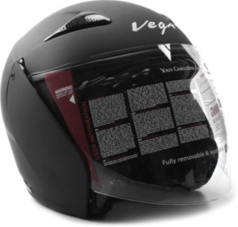 VEGA Eclipse Motorbike Helmet(Dull Black)