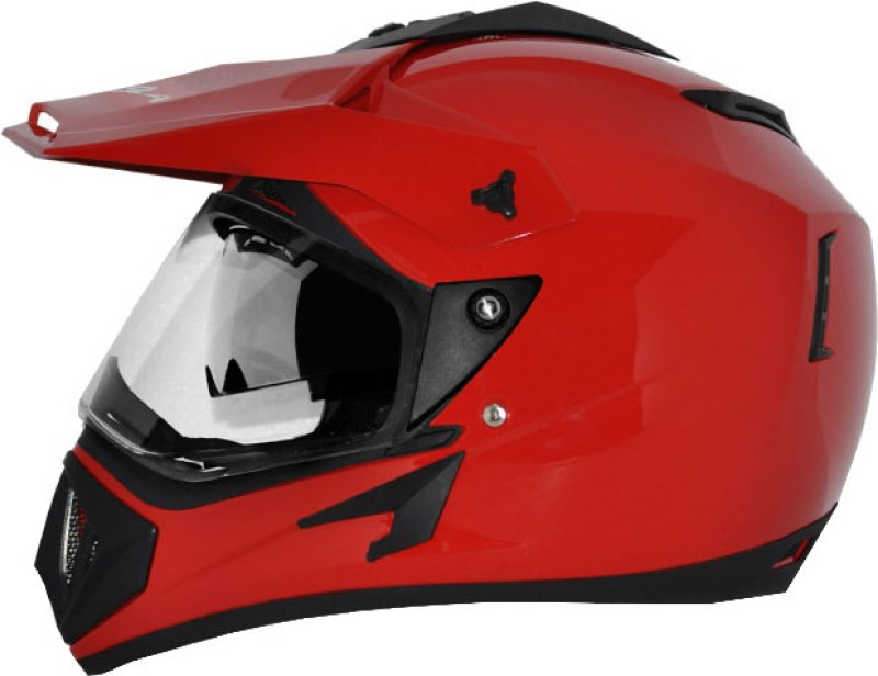 Vega Off Road D/V Motorsports Helmet(Red)