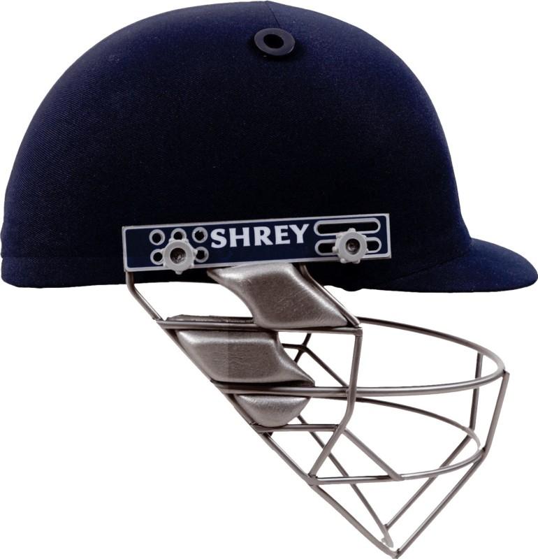 Shrey Pro Guard Stainless Steel Visor Cricket Helmet(Navy Blue)