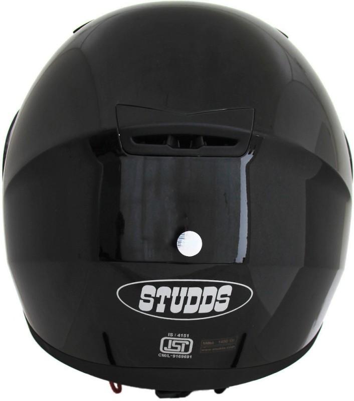 Studds Shifter Motorsports Helmet(Black)