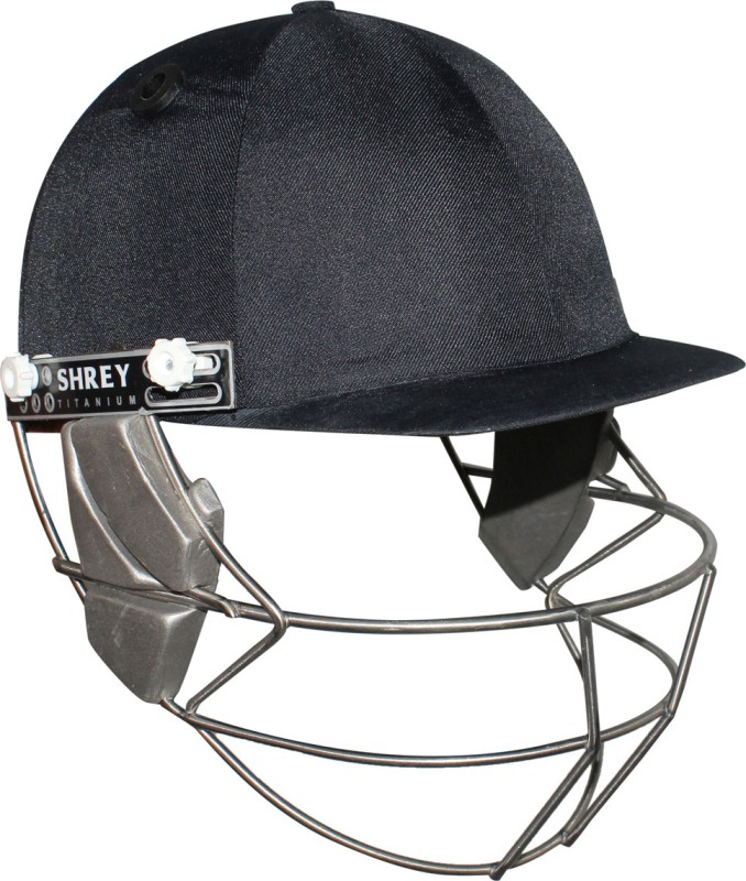 Shrey Master Class Helmet with Titanium Visor Cricket Helmet(Navy Blue)