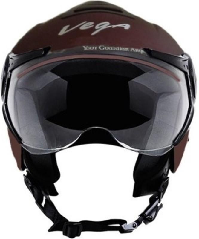 VEGA VERVE Motorbike Helmet(Dull Burgundy)