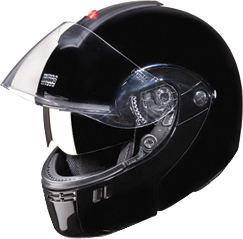 Studds Ninja 3G Double Visor Motorsports Helmet(Black)