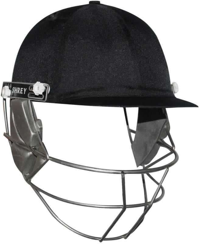 Shrey Elite with Stainless Steel Cricket Helmet(Navy Blue)
