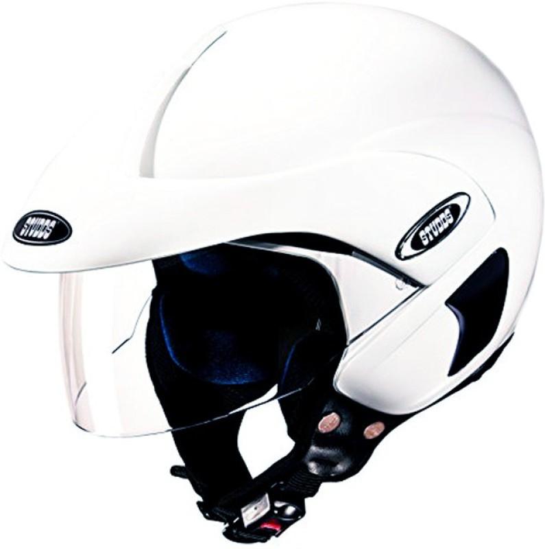 Studds Marshall Motorbike Helmet(White)