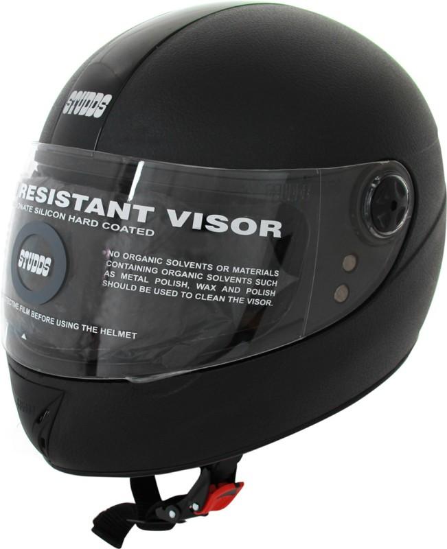 Studds Chrome Elite 540MM Motorsports Helmet(Black)