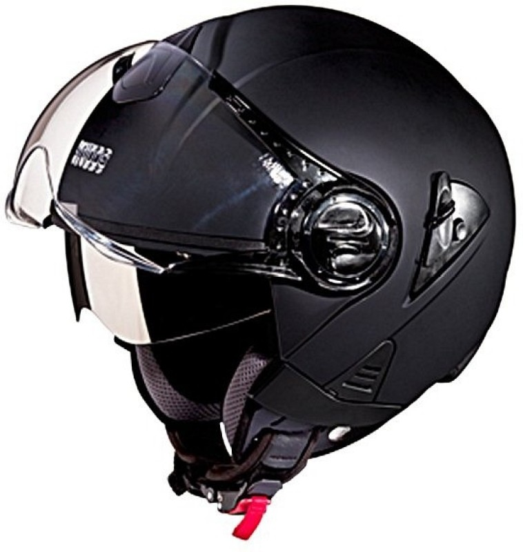 Studds Downtown Motorbike Helmet(Black)