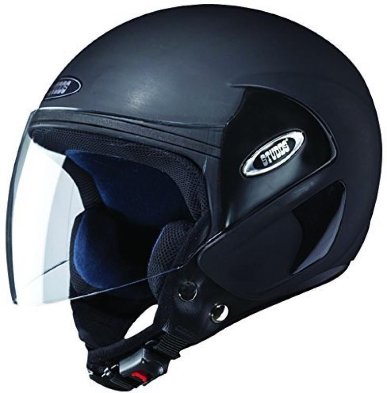 Studds CUB Motorbike Helmet(Matt Black)