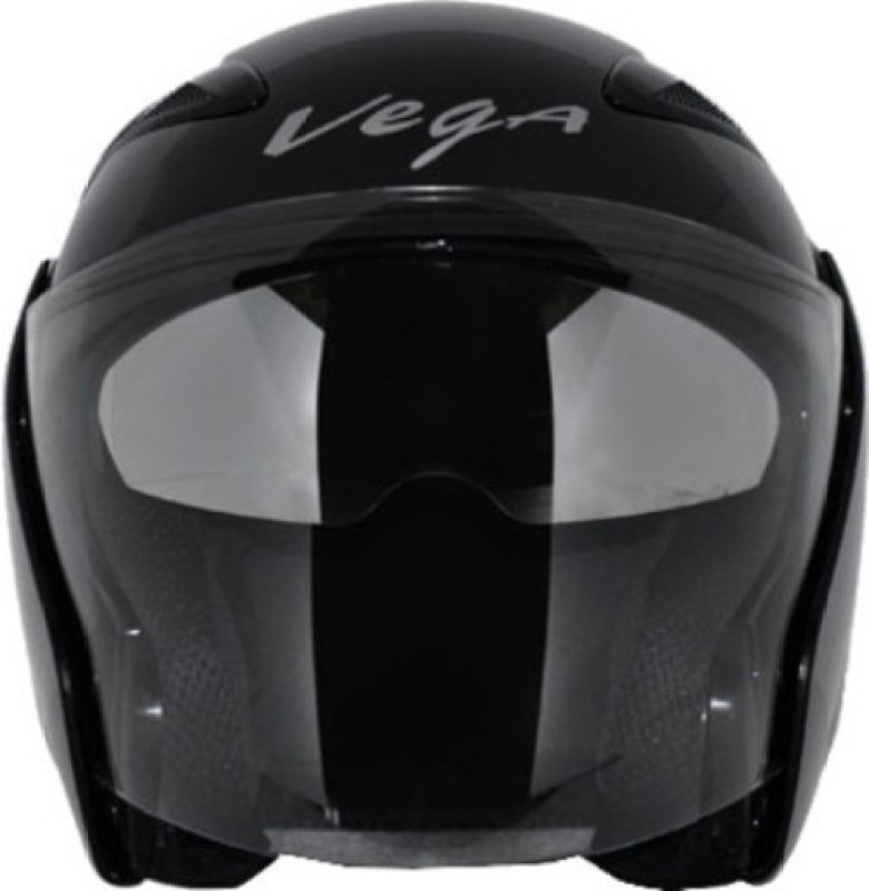 VEGA Eclipse Motorbike Helmet(Bright Black)