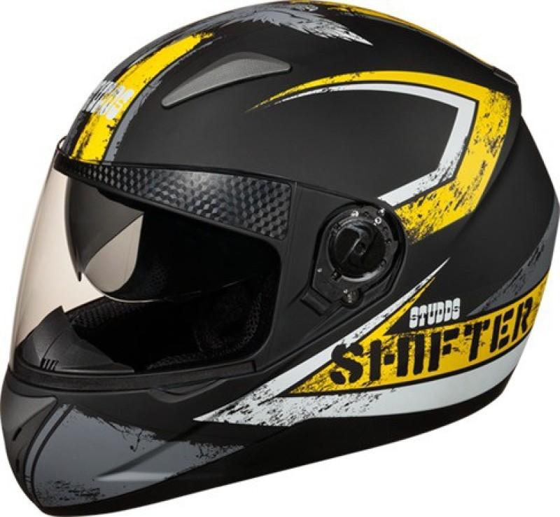 Studds Shifter D1 Motorsports Helmet(Yellow)