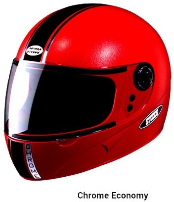 Studds Chrome Eco Motorbike Helmet(Red)