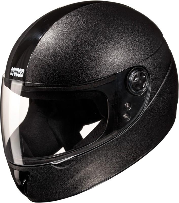 Studds Chrome Elite Motorsports Helmet(Black)