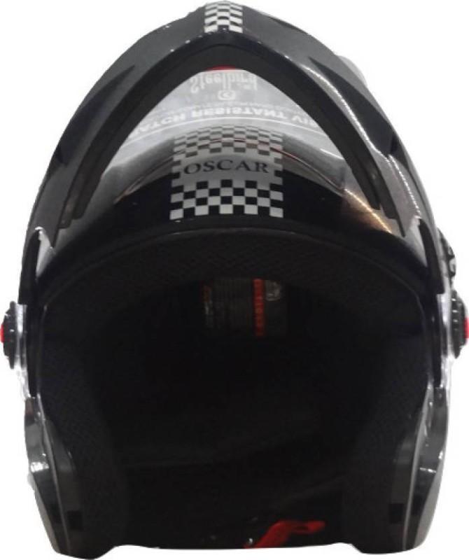 Steelbird SB-41 OSCAR DASHING Motorbike Helmet(Black)