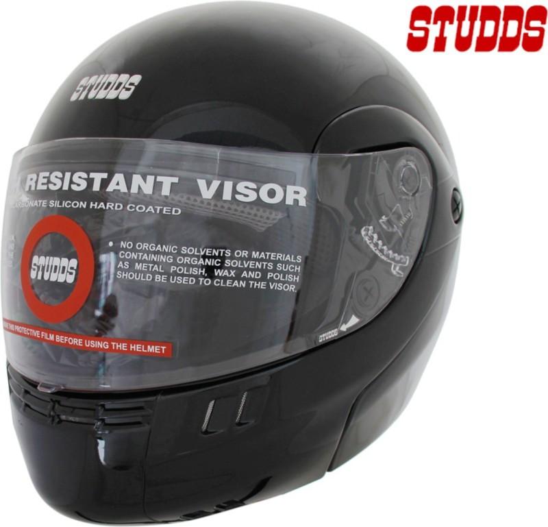 Studds Ninja 3G Eco Motorsports Helmet(Black)