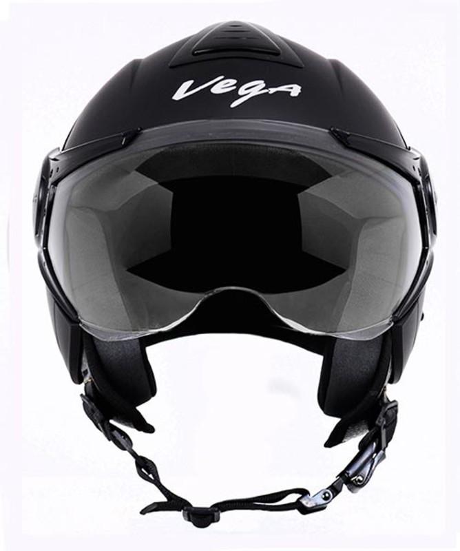 VEGA VERVE Motorsports Helmet(Dull Black)
