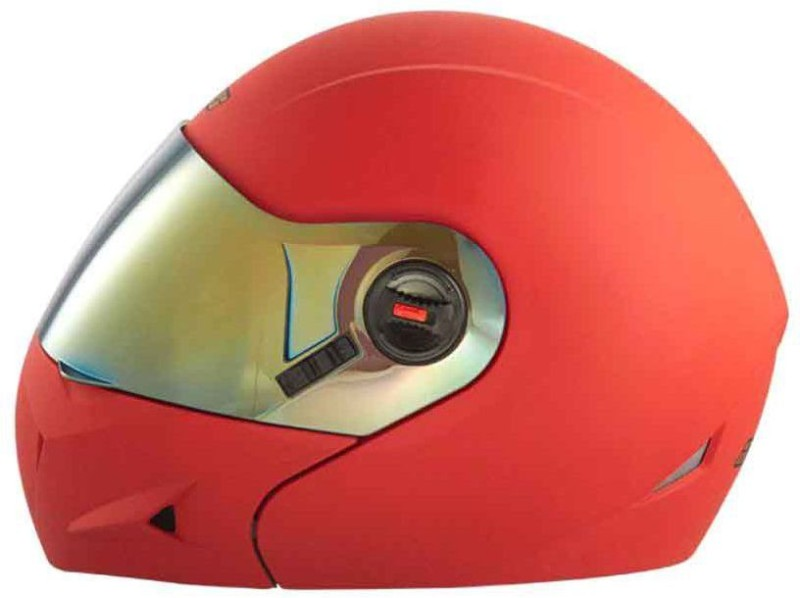 Steelbird SB-41 Ares Glossy Motorbike Helmet(Matt Red)