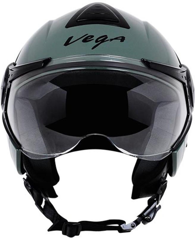 VEGA VERVE Motorbike Helmet(Dull Army Green)