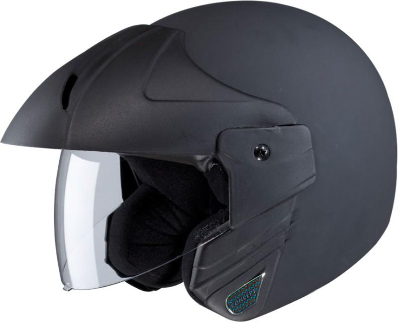 Studds NINJA CONCEPT ECO Motorsports Helmet(Black)