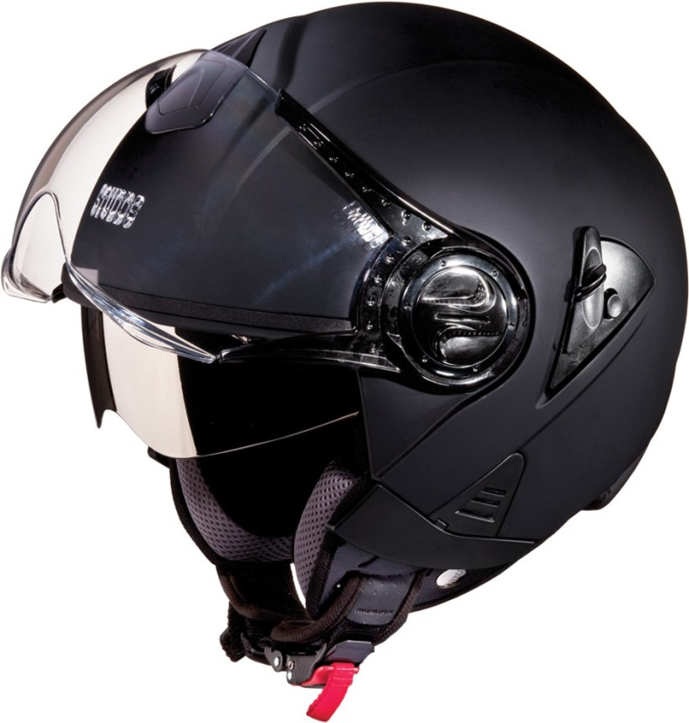 Studds Downtown Motorsports Helmet(Matt Black)