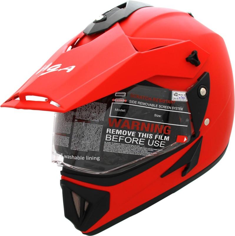 Vega Off Road D/V Monster Motorsports Helmet(Dull Red)
