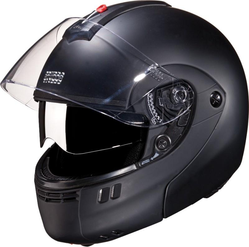 Studds Ninja 3G Double Visor Motorsports Helmet(Matt Black)