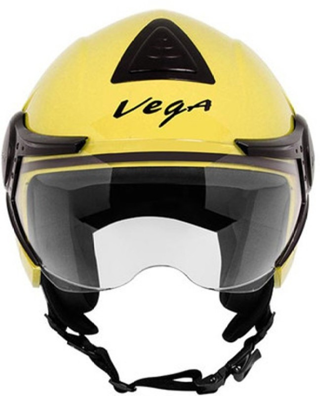 VEGA Verve Motorbike Helmet(Yellow)