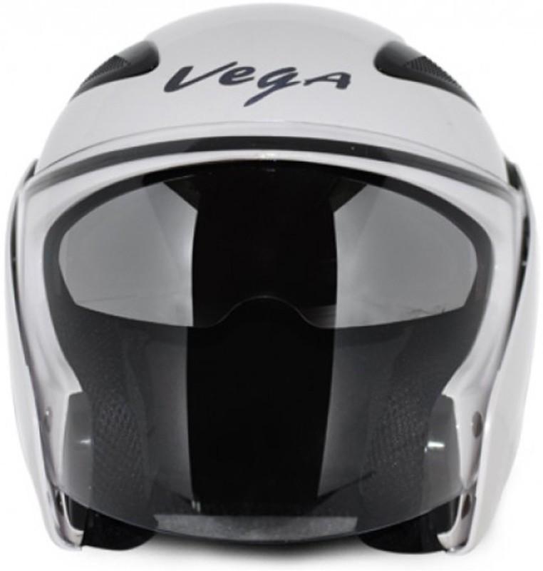 VEGA Eclipse Motorbike Helmet(White)
