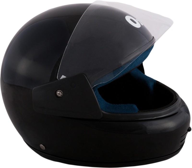 Autofy O2 Max With Chin Vent Motorbike Helmet(Black)