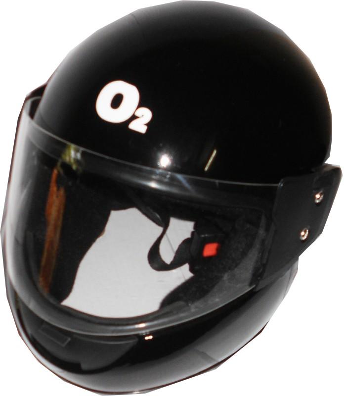 O2 Max Motorbike Helmet(Black)