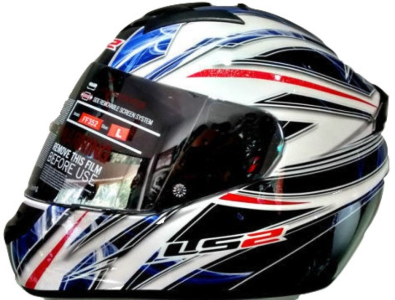 LS2 Blast Motorbike Helmet(Black, Blue)