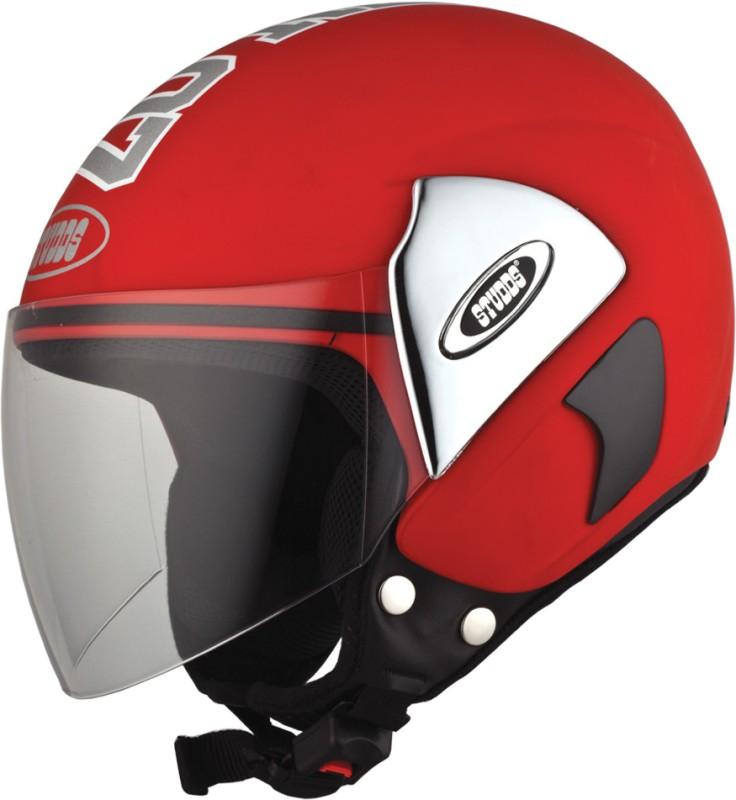 Studds CUB 07 Motorsports Helmet(Red)