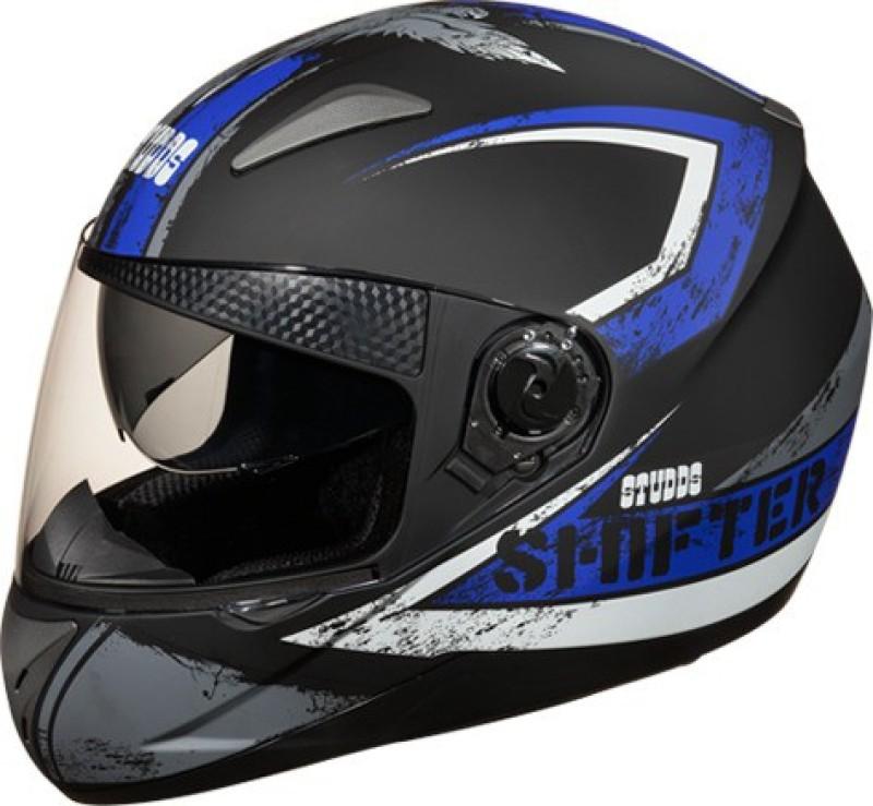Studds Shifter D1 Motorsports Helmet(Blue)