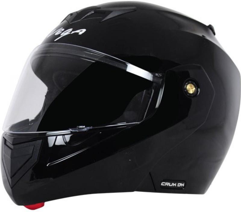 Vega Crux DX Motorbike Helmet(Black)